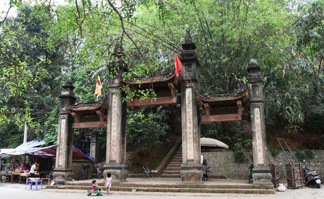 pagode tay phuong entree visiter hanoi