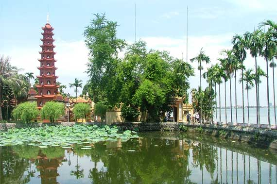 pagode tran quoc lac ouest