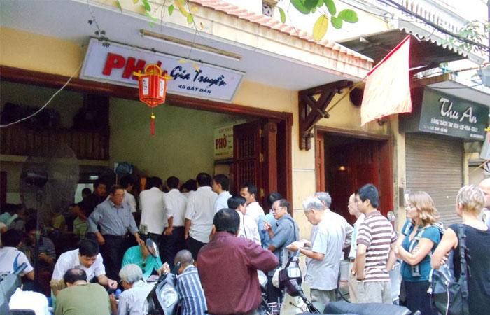 pho vietnamien restaurant pho bat dan hanoi