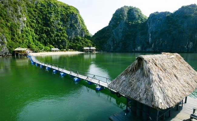plage vietnam du nord cat ba