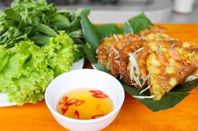 plat vietnamien banh khoai hue