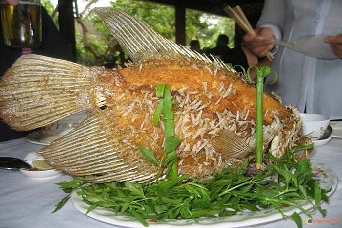 Spécialités culinaires sud Vietnam poisson