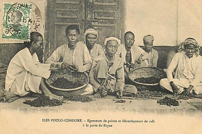 vietnam con dao bagne de Poulo Condore