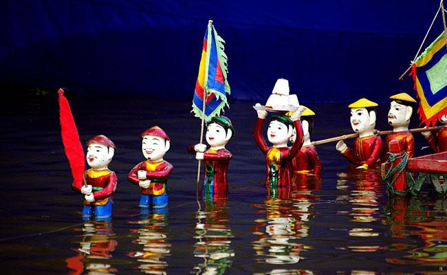 que faire a hanoi le soir marionnettes sur eau