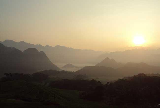 reserve naturelle pu luong soleil