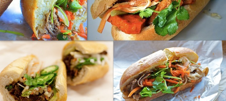saigon banh mi sandwich vietnam