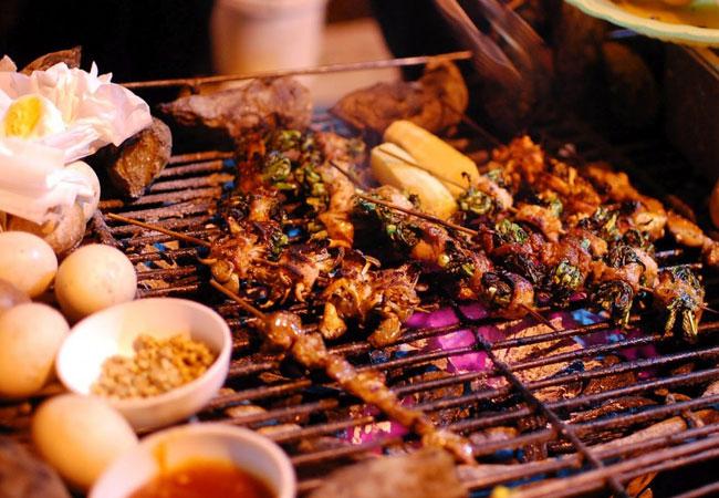 sapa vietnam plats grillades