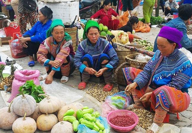 sapa vietnam marche heddomadaire