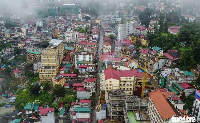 sapa vietnam panorama
