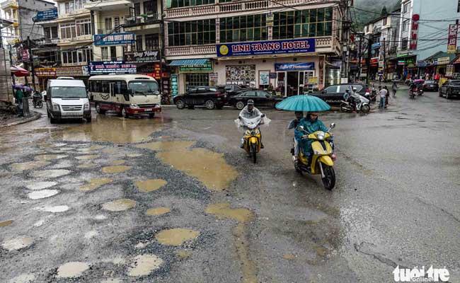 sapa vietnam route
