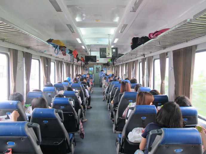 se rendre a hoi an train ha noi danang