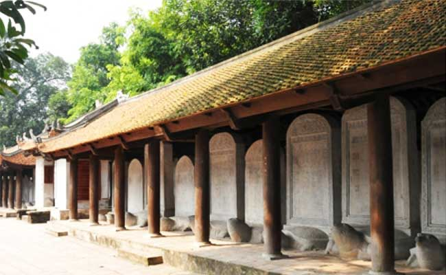 temple littérature hanoi