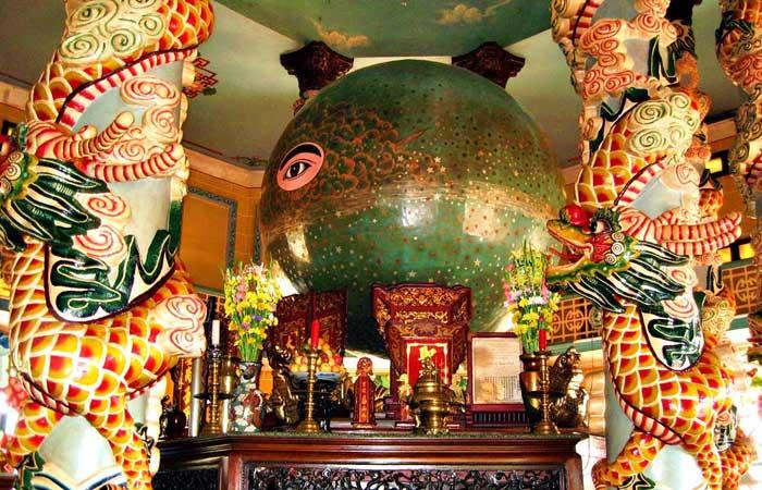 temple cao dai culte