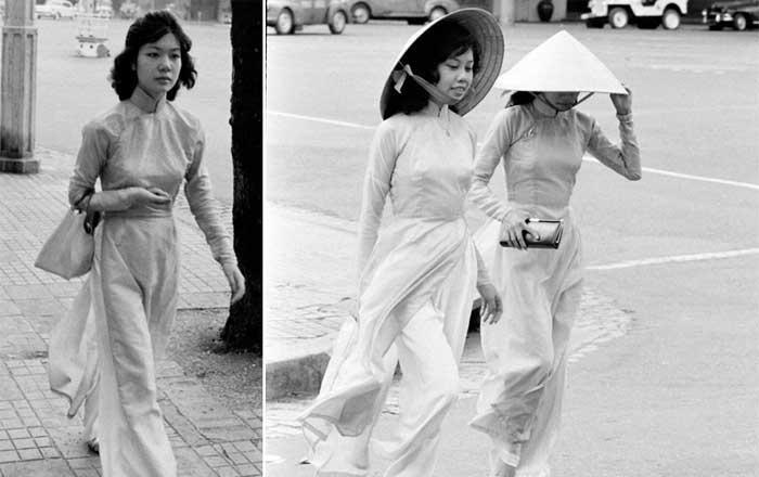 tenue vietnamienne ao dai saigon