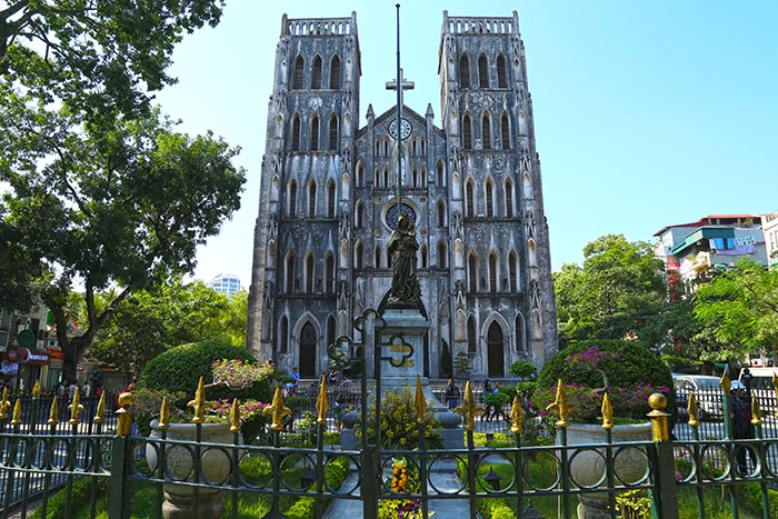 top 10 choses à faire à hanoi  cathedrale
