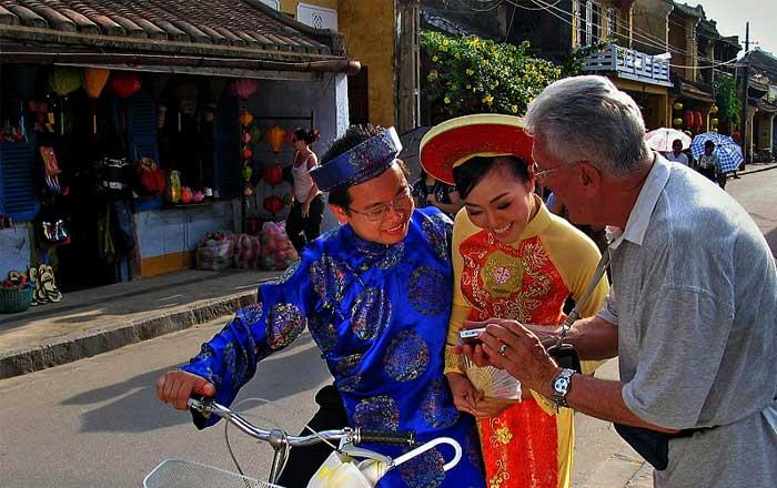 tunique vietnamienne ao dai mariage