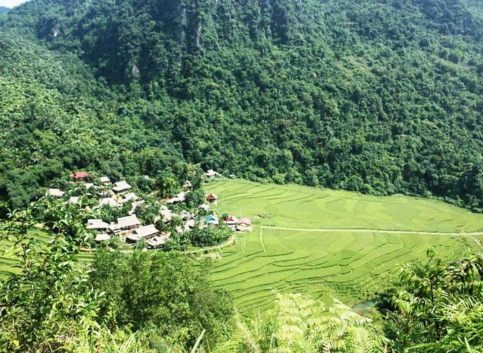 pu luong village kho muong panorama