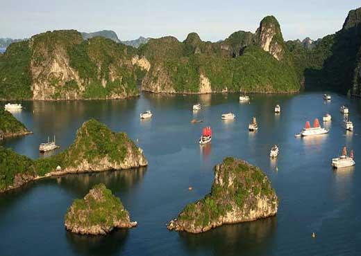 visiter vietnam halong