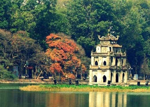 visiter vietnam lac hoan kiem hanoi