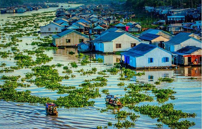 vietnam mekong village chau doc