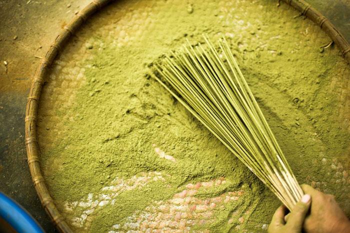 village Phia Thap encens mélange poudre