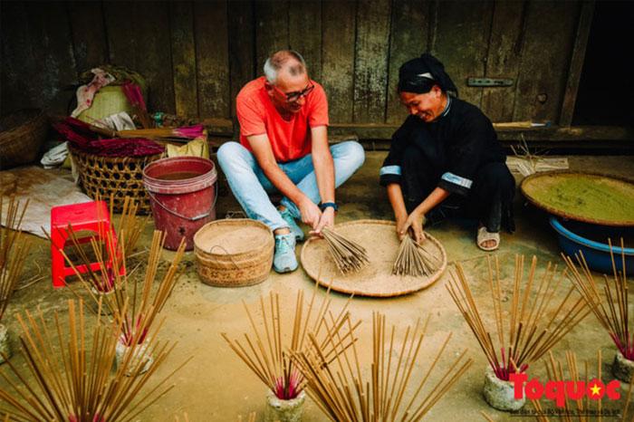 village Phia Thap encens mélange de poudre