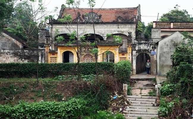 village cu da maison traditionnelle hanoi