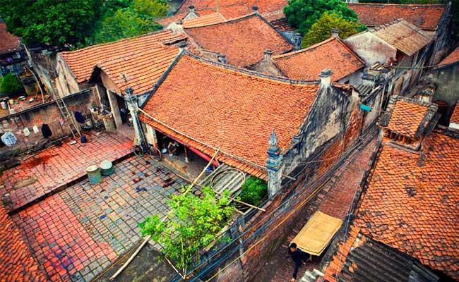 village cu da maison traditionnelle visiter hanoi