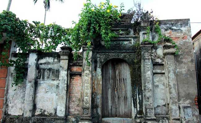 village cuu vieux batiments visiter hanoi