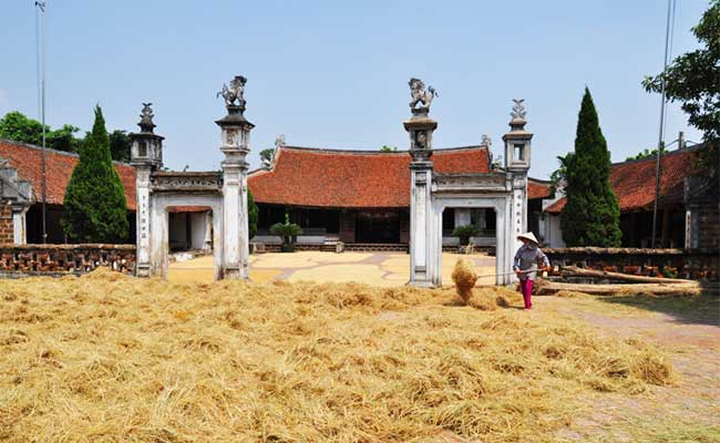 village duong lam maison communale mong phu