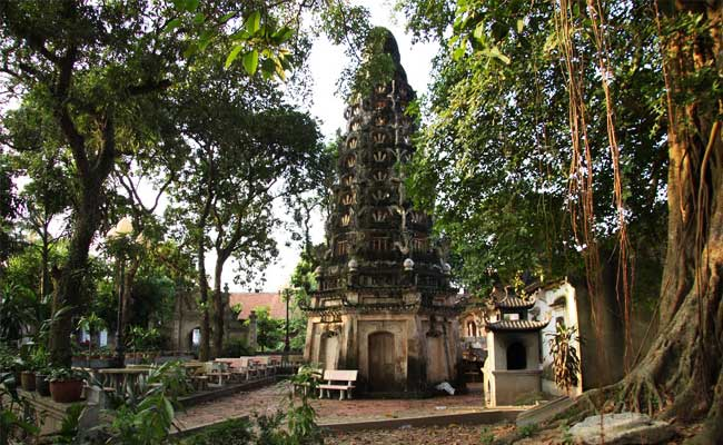 village duong lam pagode mia