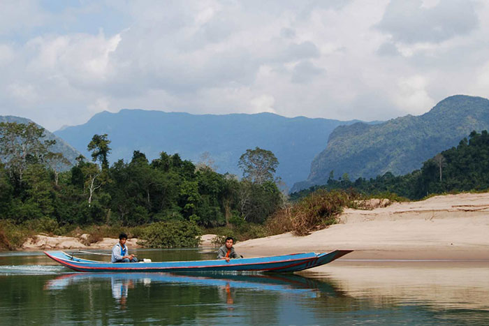 visiter le laos authentique riviere nam ou