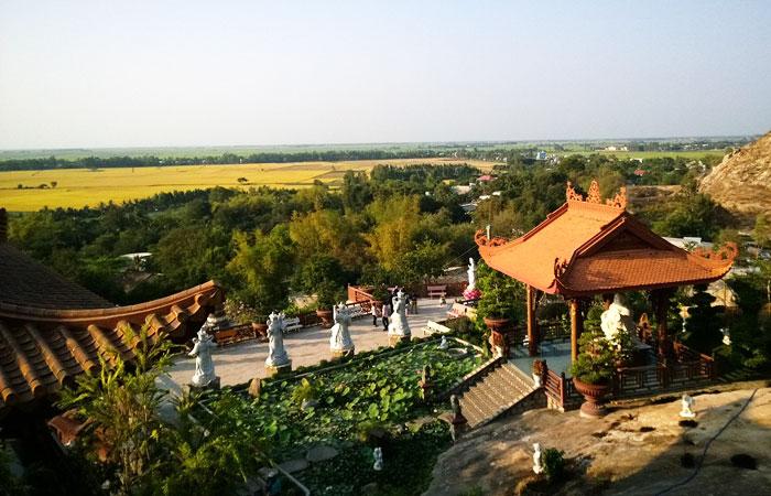 visiter chau doc vietnam pagode mont sam
