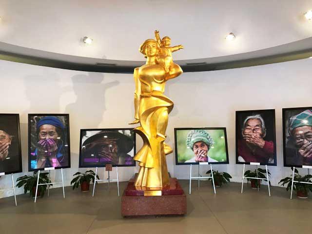 visiter hanoi musee femmes vietnam hall
