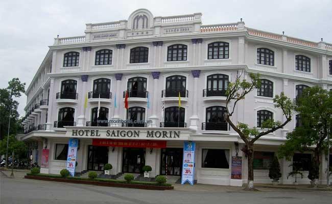 visiter hue hotel saigon morin