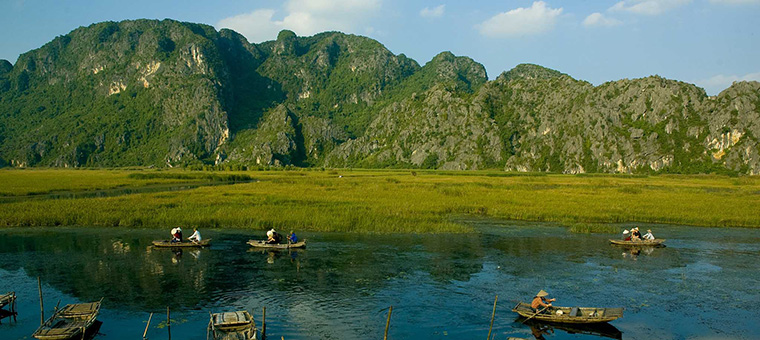 visiter vietnq, excursion van long ninh binh