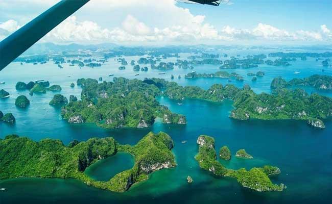 voyage vietnam luxe baie halong en haut