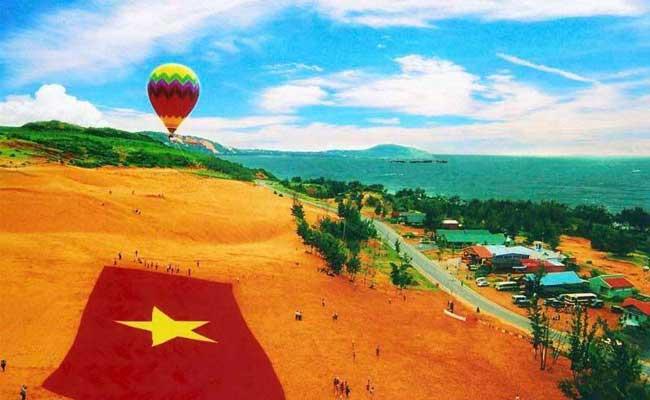voyage vietnam luxe phan thiet montgolfiere